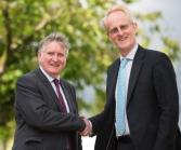 Professor Donaldson and Professor Dan Davies