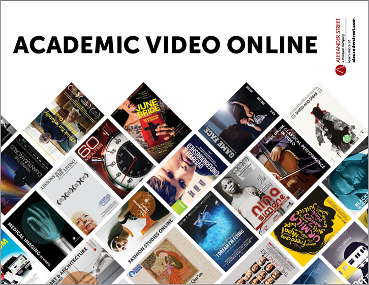 The Academic Video Online logo.